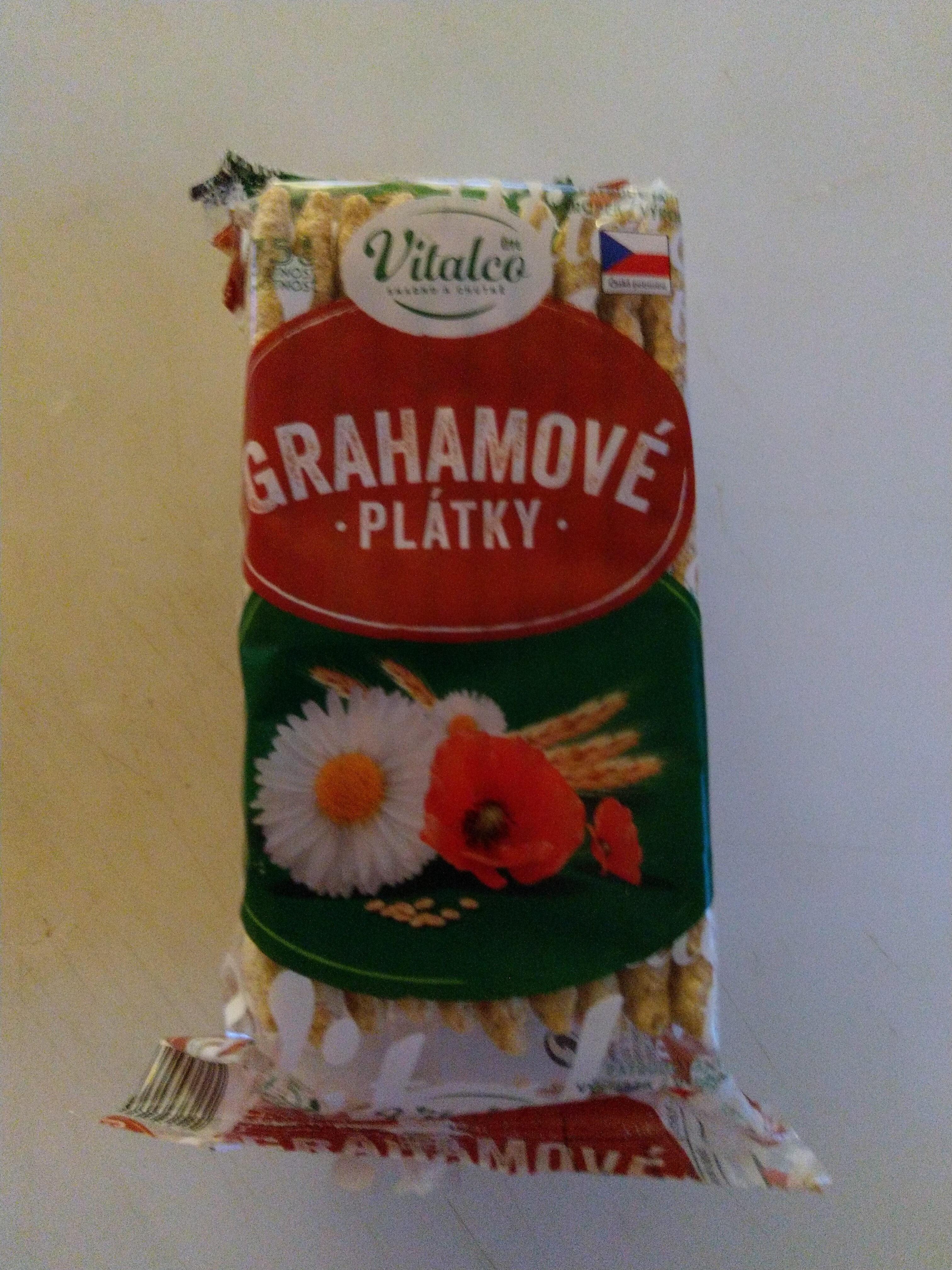 Grahamové plátky - Produit - cs
