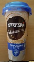 Shakissimo cappuccino latte - Product - en