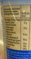 Shakissimo cappuccino latte - Voedingswaarden - en