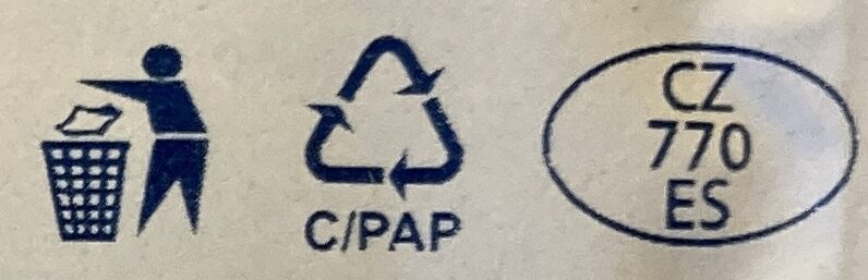 Tvaroh měkký - Recycling instructions and/or packaging information - cs