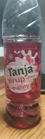 Tanja sirup s příchutí maliny - Produit - cs