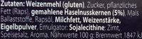 Lázeňské Oplatky lískooříškové - Ingredients - de