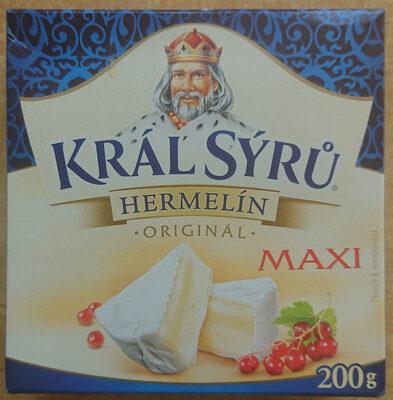 Král sýrů hermelín originál maxi - Product - cs