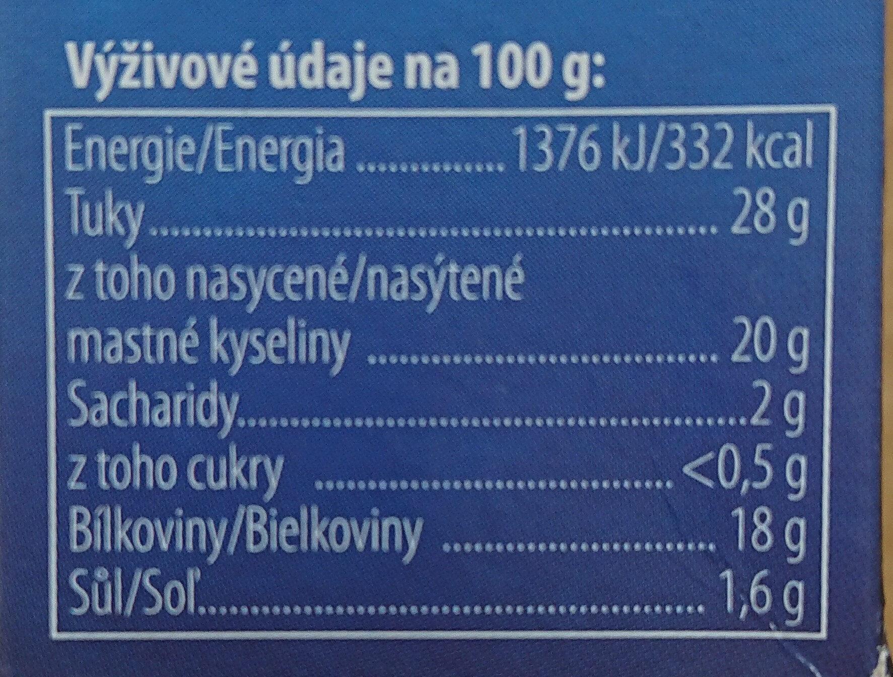 Král sýrů hermelín originál maxi - Nutrition facts - cs