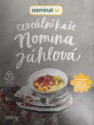 Norminal cereální kaše Nomima jáhhlová - Produit - cs