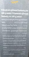 Norminal cereální kaše Nomima jáhhlová - Informations nutritionnelles - cs