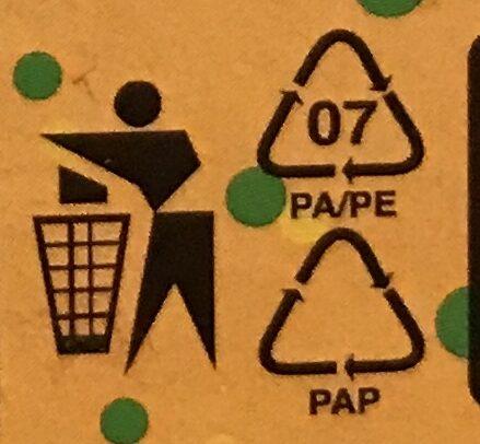 Robi nudličky - Instruction de recyclage et/ou informations d'emballage - cs