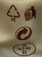 Korbáčik uzený - Recycling instructions and/or packaging information - cs