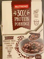 30% protein porridge chocolate - Product - en