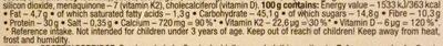 30% protein porridge chocolate - Nutrition facts