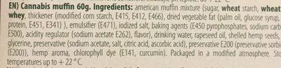 Cannabis Muffin - Ingrédients