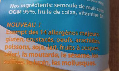 Krupky - Soufflé de Maïs Bébé - Ingredienti - fr