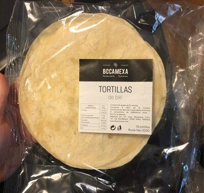 Tortillas de blé - Produit - fr