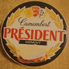 Camembert president krémový - Produit