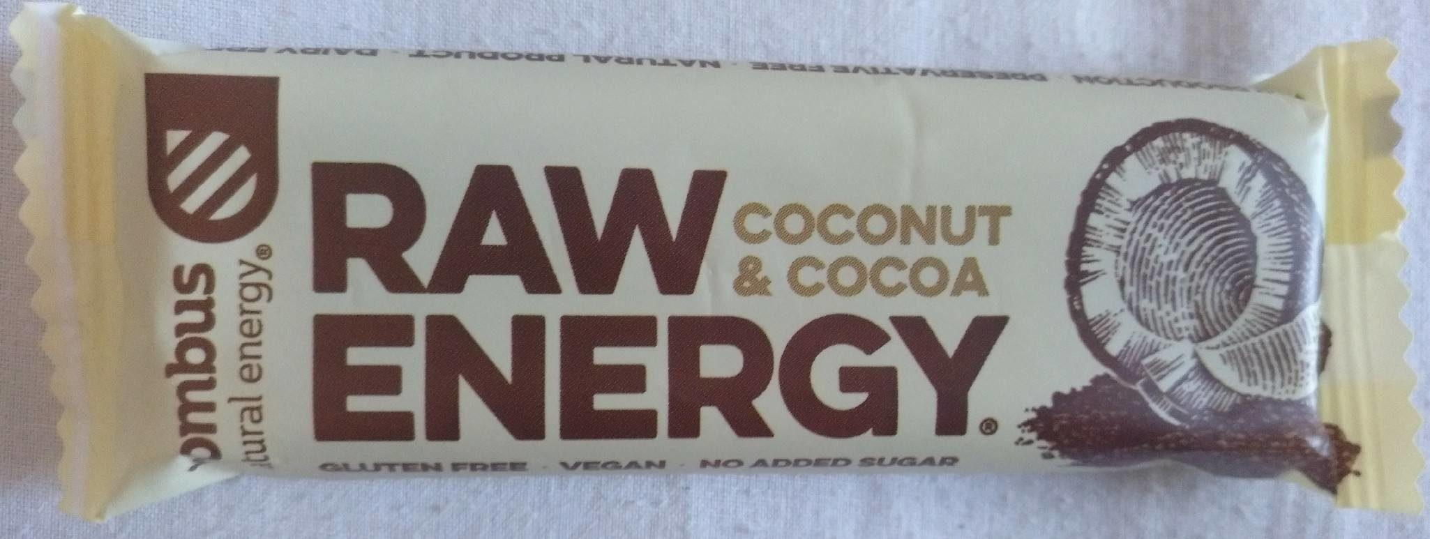Raw Energy Coconut & Cocoa - Produit - fr