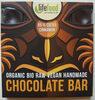 Raw čokolada z nepraženého kakaa bio 95% kakao se skořicí - Product