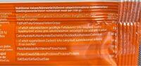 Lifebar Abricot Cru Vegan - Informations nutritionnelles - fr