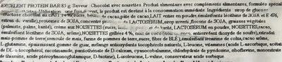 Excellent 25% Protein Bar - Ingrediënten - fr
