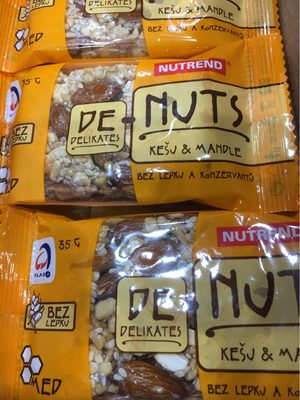 Nutrend Cashew & Almond 35g - Product - fr