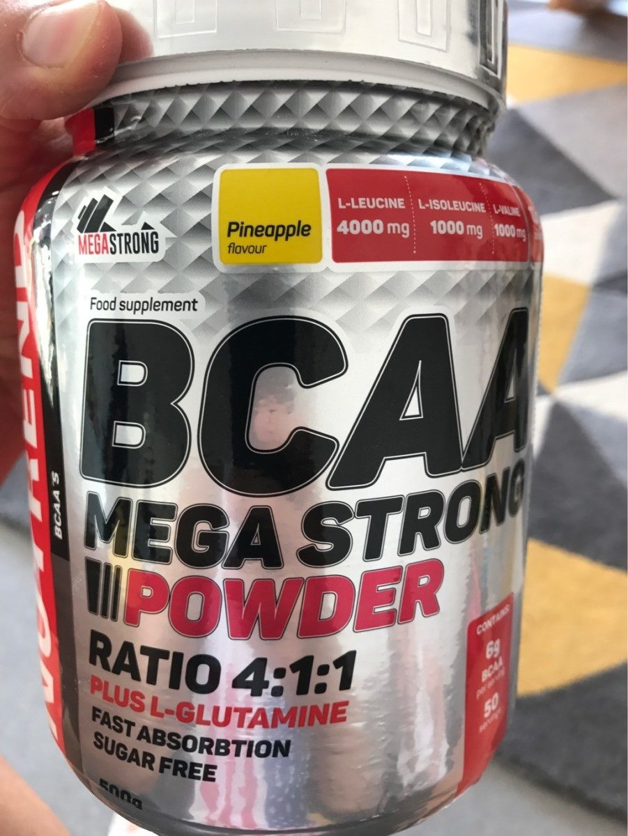 Bcaa Megastrong , Pineapple - Product - fr