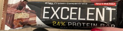 Nutrend Excellent Bar Chocolate Nougat - Product - fr