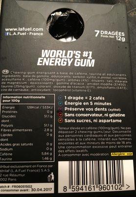 Supreme energy gum l a fuel 12 g - Bicarbonate de soude intermarche ...