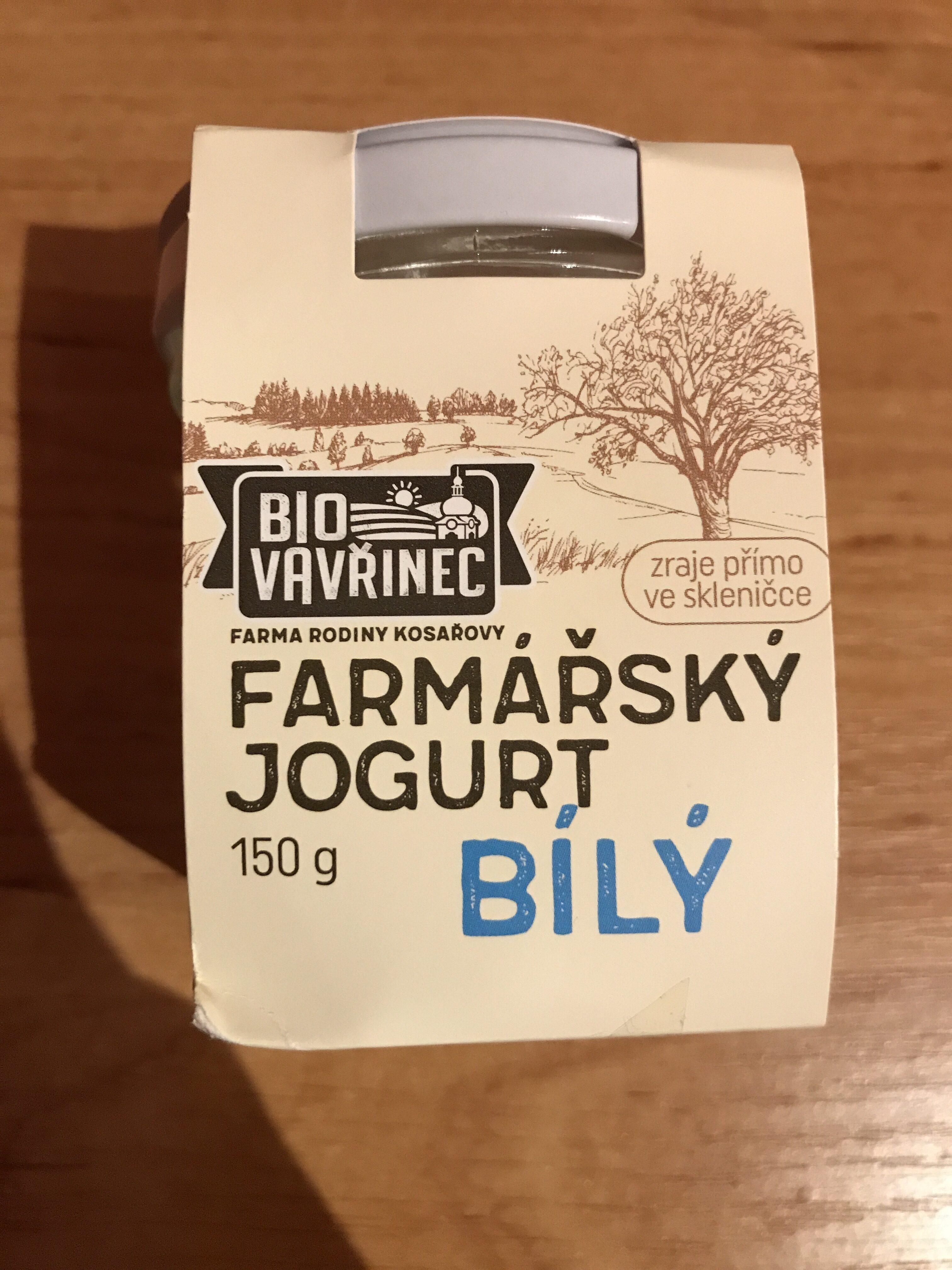 Farmářský jogurt bílý BIO - Product - cs