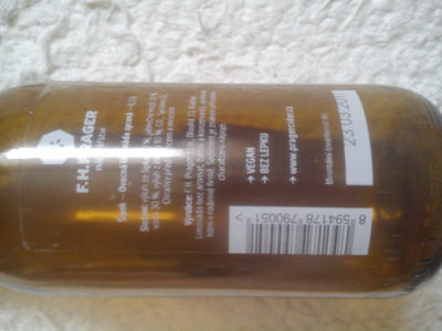 Pragerova limonáda šípek - Voedigswaarden
