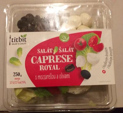 Titbit Salát Caprese Royal s mozzarelou a olivami - Product - cs