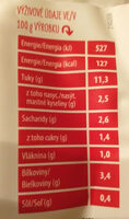 Titbit Salát Caprese Royal s mozzarelou a olivami - Nutrition facts - cs
