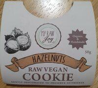 Hazelnut Raw Vegan Cookie - Product - de