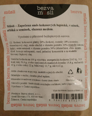 Spékané paleo - Product - cs