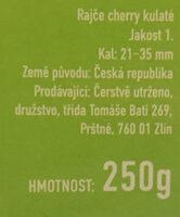Rajčata Nelinka z farmy Velké Němčice - Ingredients - cs