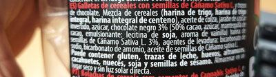 Cannabis Cookies - Ingredients - es
