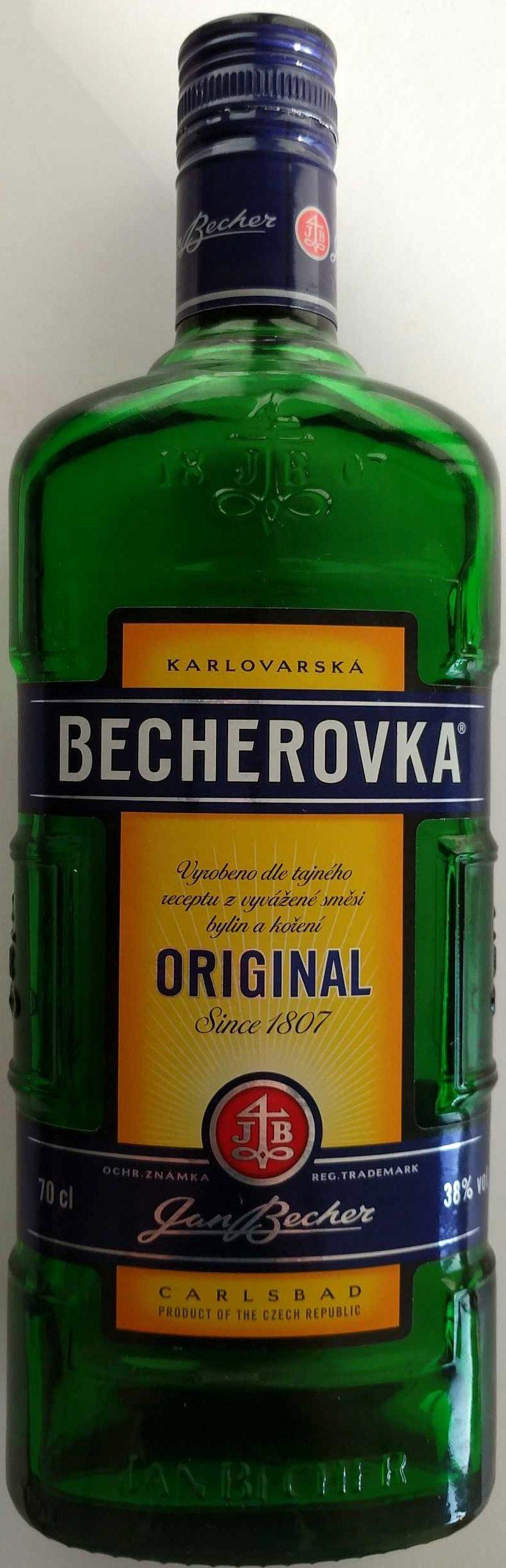 Becherovka - Produkt