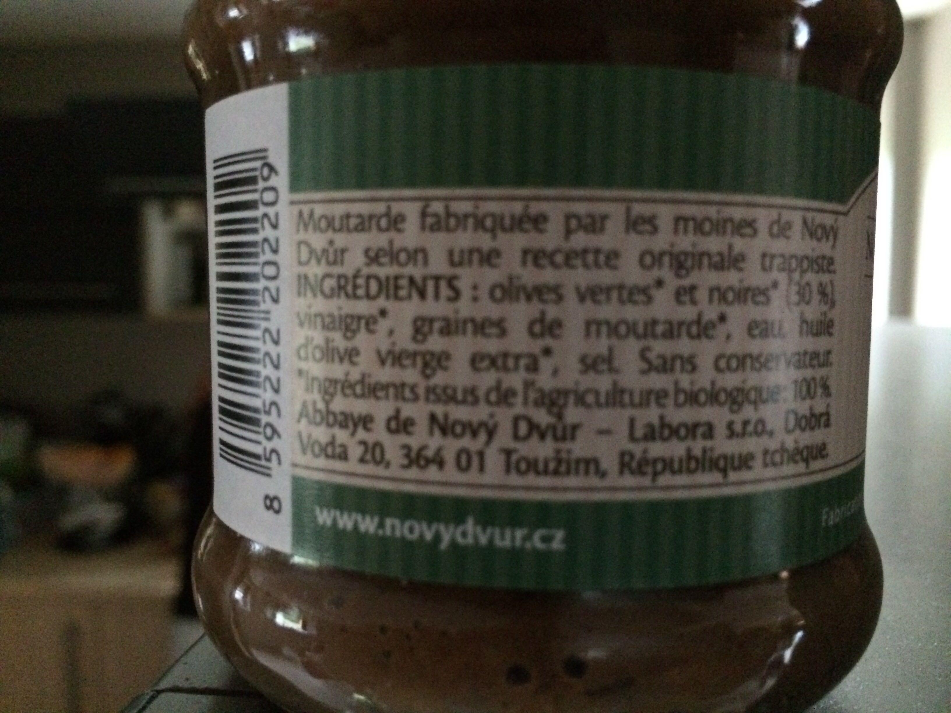 Moutarde de Nový Dvůr - Produit