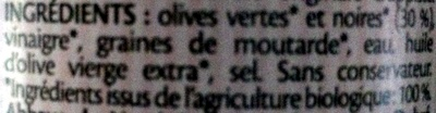 Moutarde de Nový Dvůr - Ingrédients
