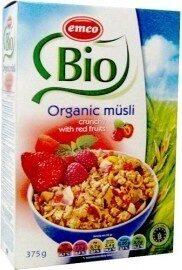 Emco Organic Muesli With Red Fruits - Produto - fr
