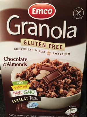 Granola chocolate & almond - نتاج - en