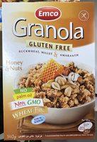 Granola Miel & Noix - Produit - fr