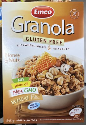 Granola honey & nutsنتململ - Prodotto - fr