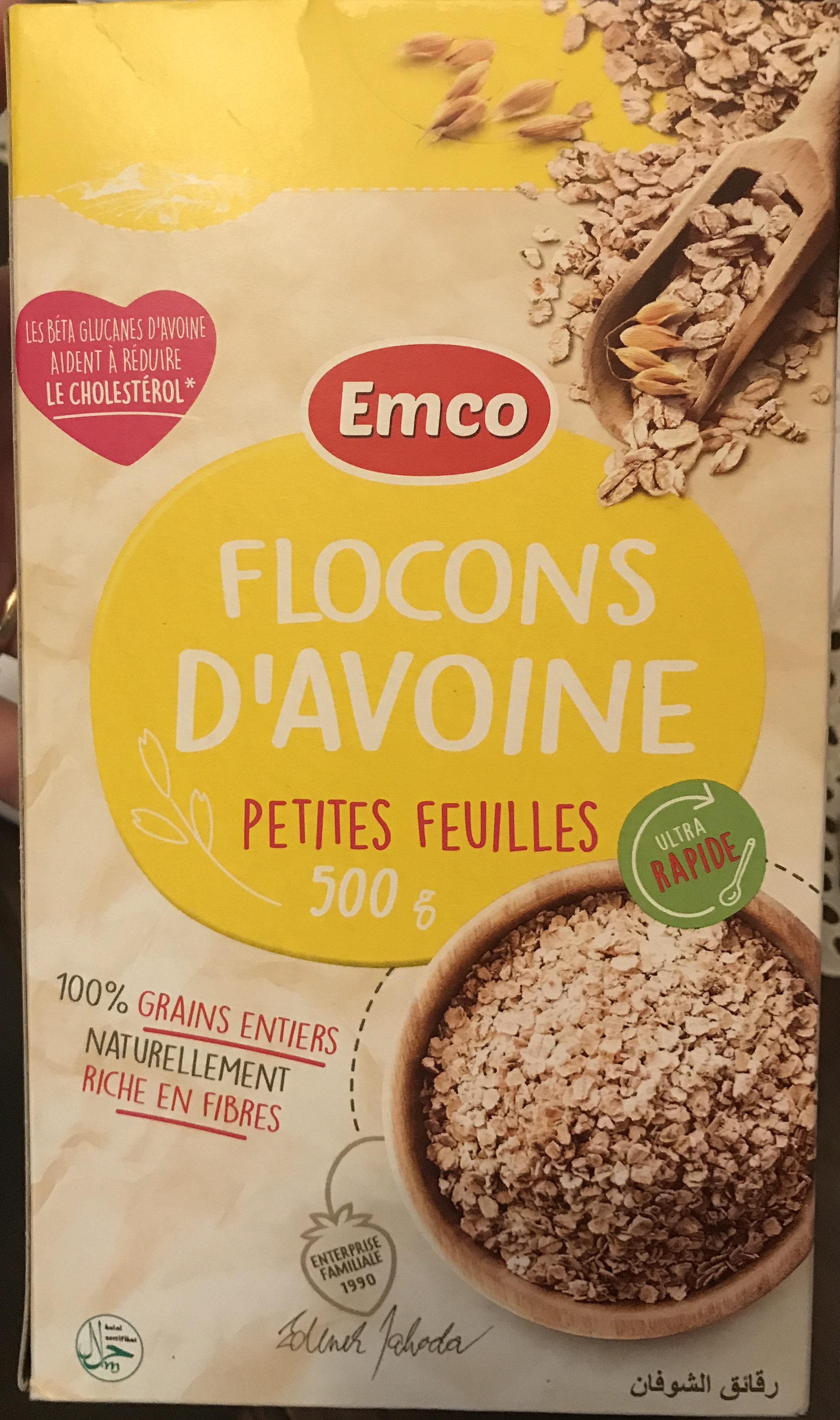 Flocons d'avoine petites feuilles - Produit - fr