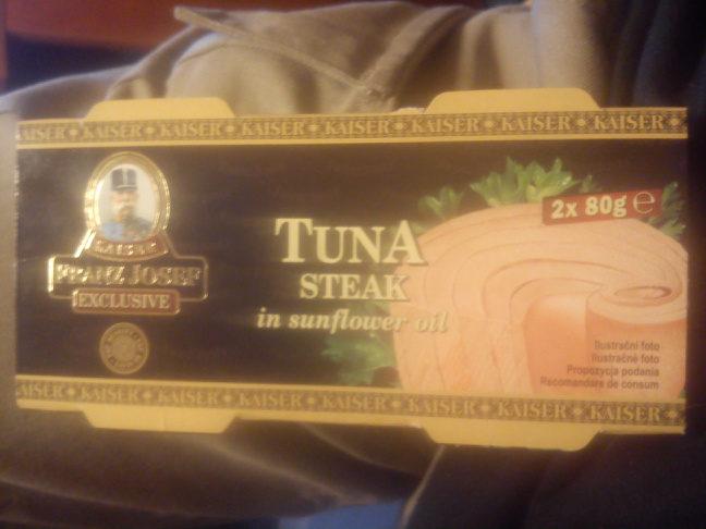 tuna steak in sunflower oil - Product