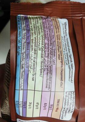 Musli - Nutrition facts - fr