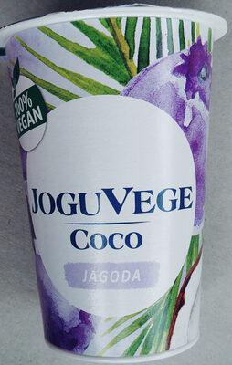 Wegański deser fermentowany na bazie mleczka kokosowego, z jagodami. - Produkt