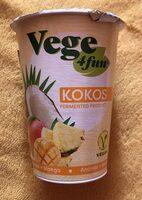 Fermentovaný kokosový výrobek, Ananas + mango - Produit - cs