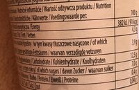 Fermentovaný kokosový výrobek, Ananas + mango - Informations nutritionnelles - cs
