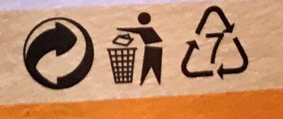 Fermentovaný kokosový výrobek, Ananas + mango - Instruction de recyclage et/ou informations d'emballage - cs