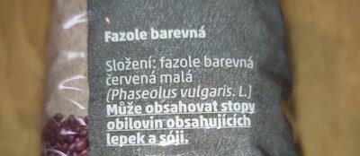 PENNY Fazole Barevná - Ingrédients - cs