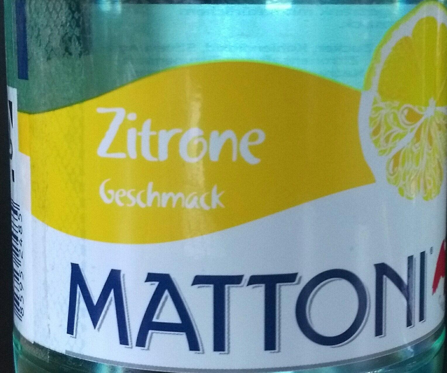 Zitrone Geschmack - Product